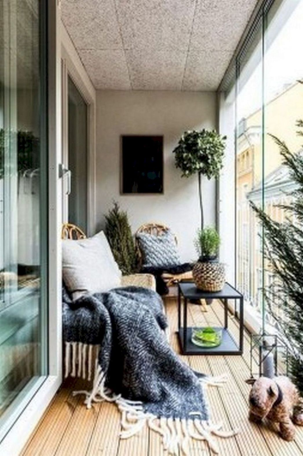 10+ Awesome Small Apartment Balcony Ideas On a Budget | Small ...