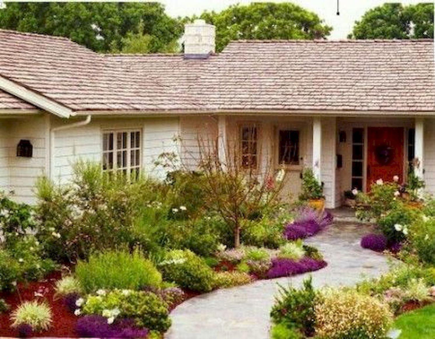 10 Beauty Front Yard Garden Landscaping Design Ideas – 10DECOR - garden ideas for january