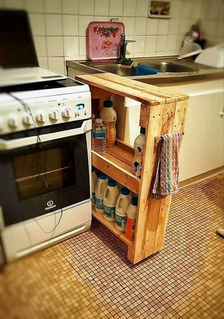 10+ BENT SMALL KITCHEN STORAGE FOR SAVING SPACE | Kitchen | DIY ...