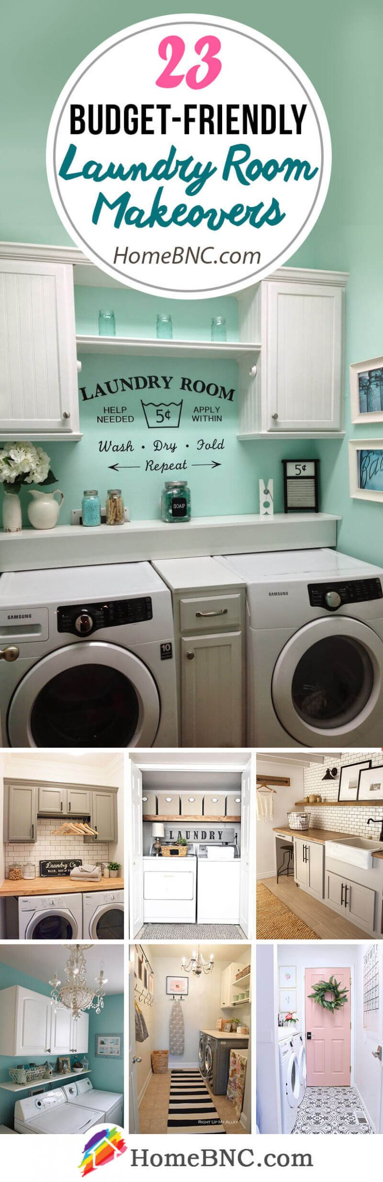 10 Best Budget Friendly Laundry Room Makeover Ideas and Designs ..