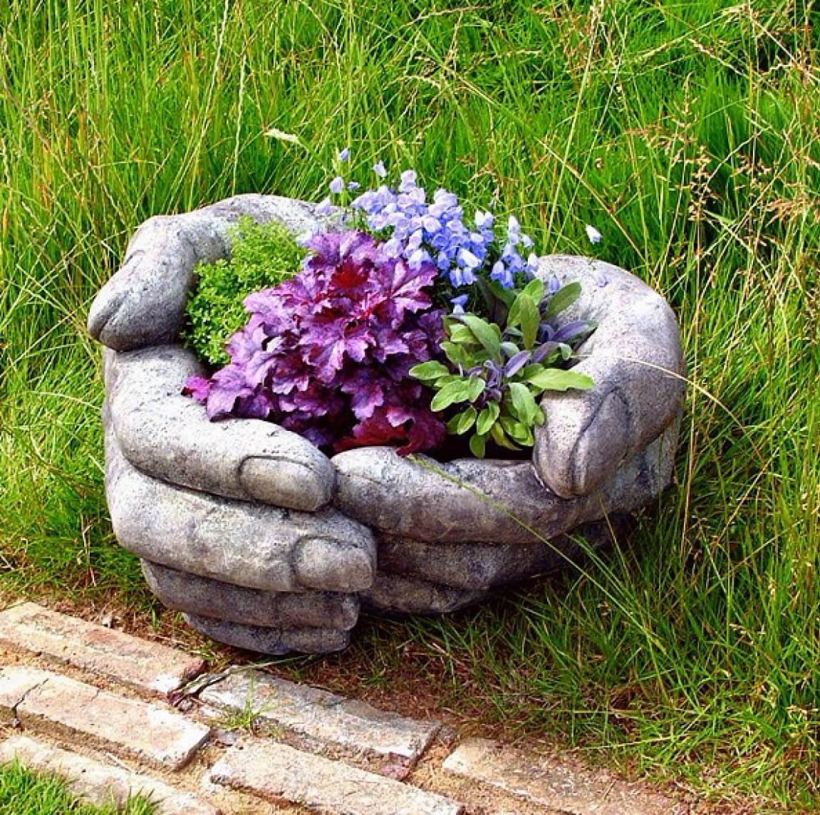 10 Best Creative Garden Container Ideas and Designs for 10 - garden quirky ideas