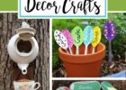 10 Best DIY Garden Crafts (Ideas and Designs) for 10