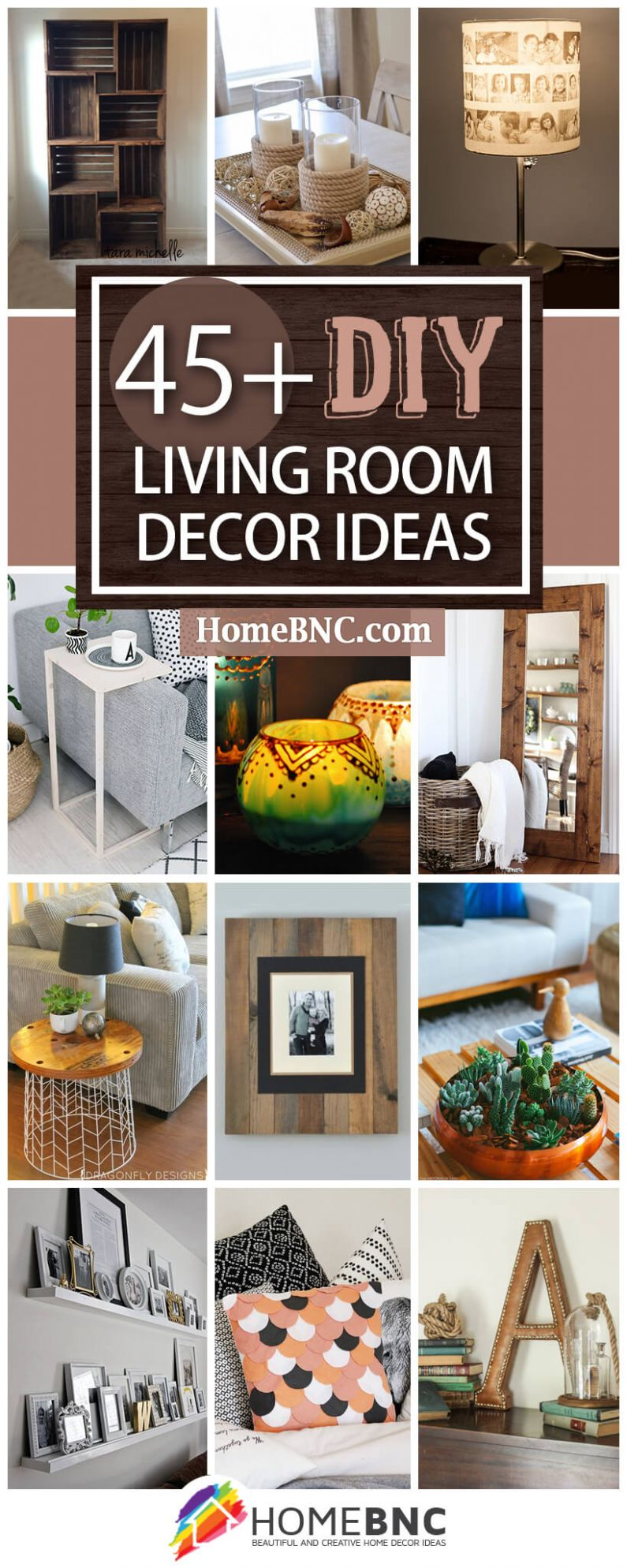 10+ Best DIY Living Room Decorating Ideas and Designs for 10 - diy home decor ideas easy and cheap