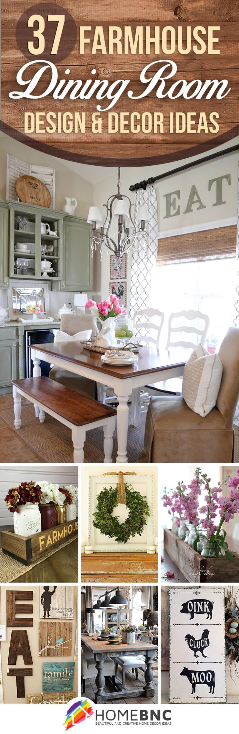 10 Best Farmhouse Dining Room Design and Decor Ideas for 10 - dining room ideas country style