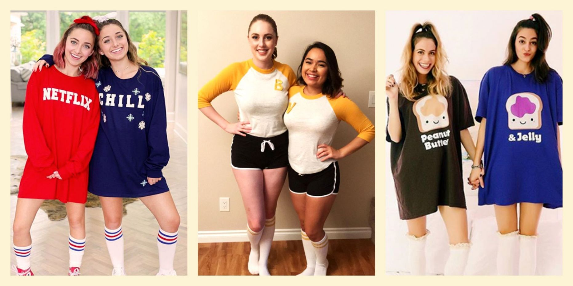 10 Best Friend Halloween Costumes 10 - BFF Matching Costume Ideas