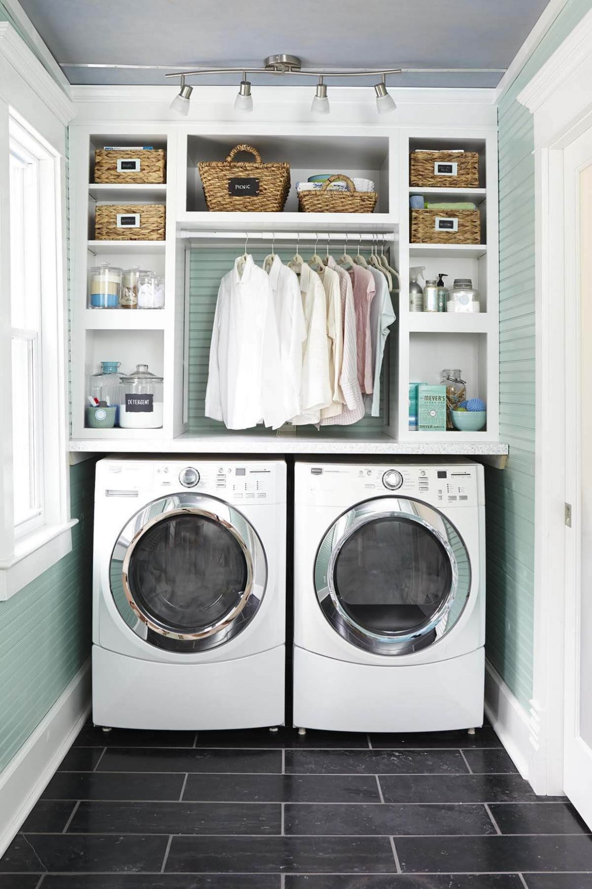 10 Best Small Laundry Room Design Ideas for 10