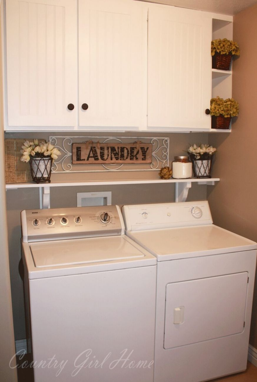 10 Best Small Laundry Room Design Ideas for 10 - laundry room ideas with top load washer