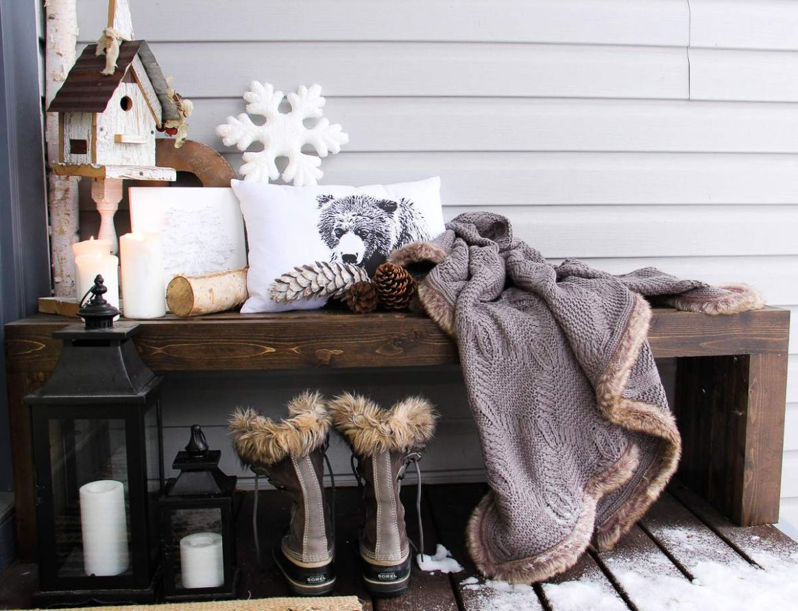 10 Best Winter Porch Decorating Ideas