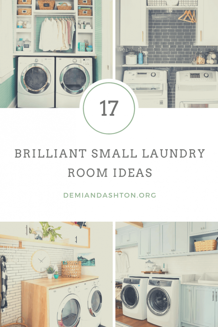 10 Brilliant Small Laundry Room Ideas for Small Spaces Decoration - laundry room upgrade ideas