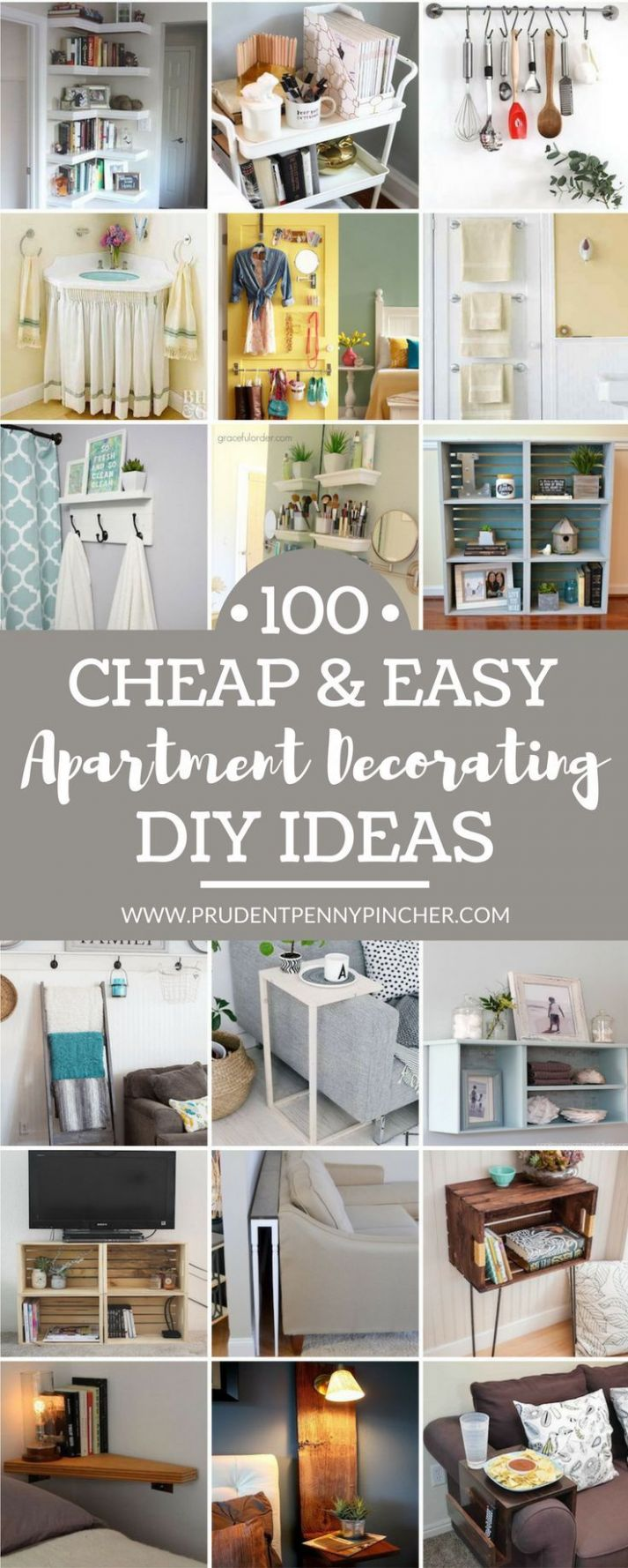 10 Cheap and Easy DIY Apartment Decorating Ideas | Diy apartment ..