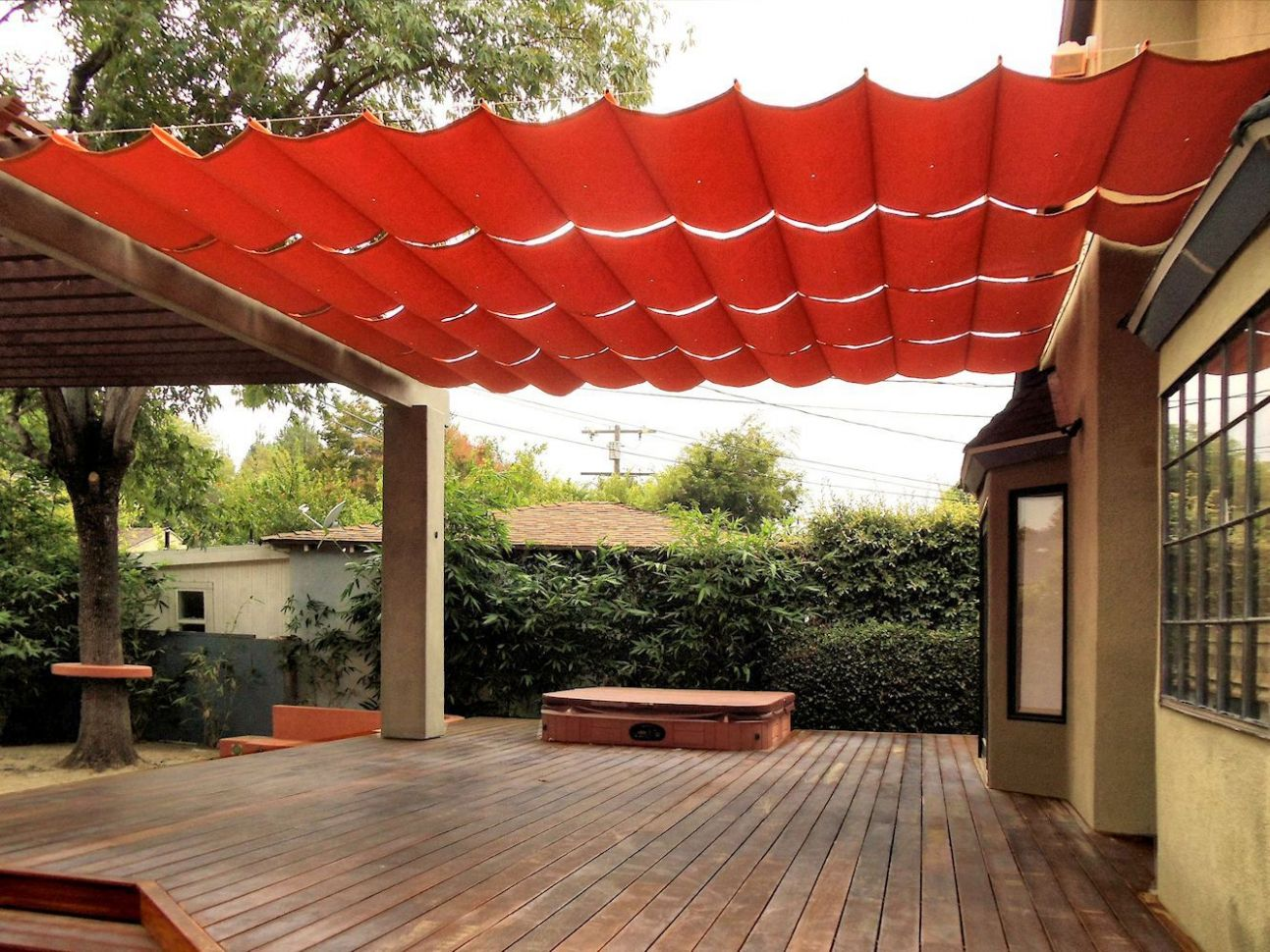 10 Clever DIY Ways to Create Backyard Shade | Backyard shade, Patio ..