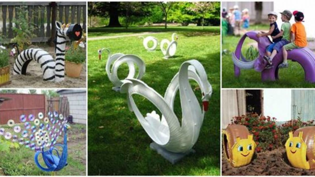 10+ Creative DIY Ideas to Repurpose Old Tire into Animal Shaped ..