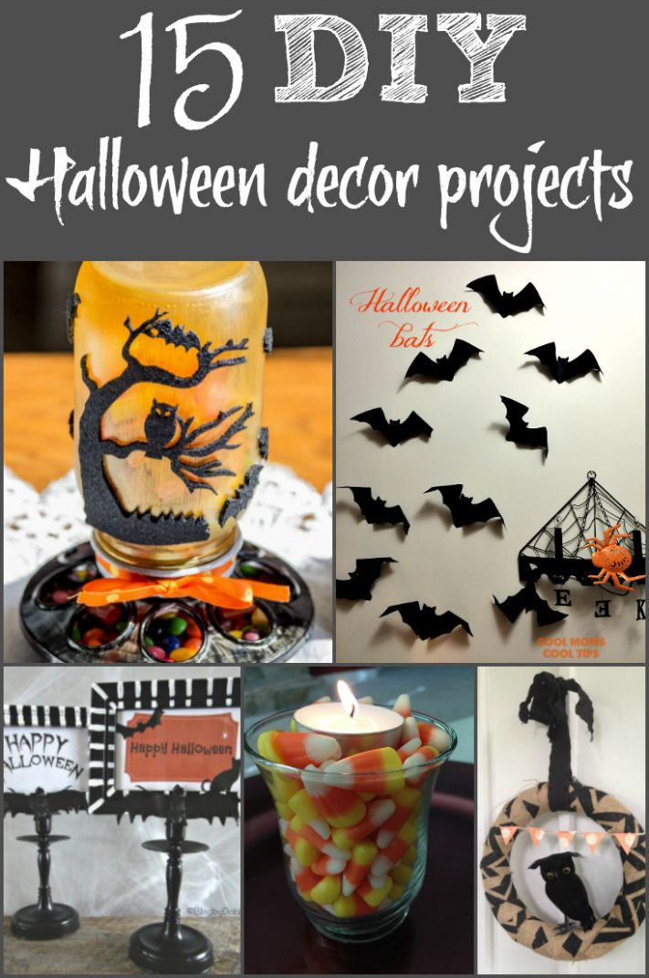 10 DIY Halloween Decorations You Can Make at Home - halloween ideas to do