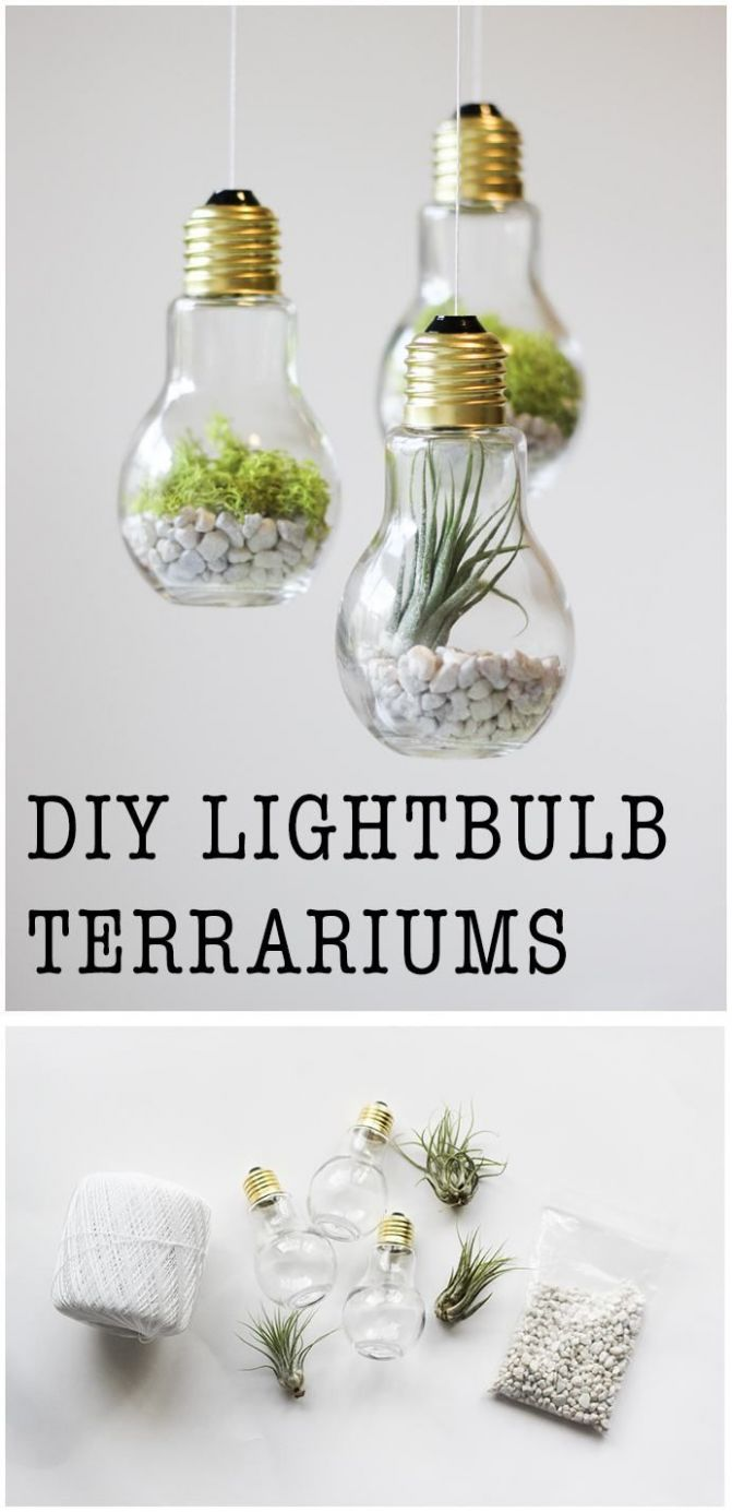 10 Easy DIY Home Decor Craft Projects | Diy art projects, Easy ..