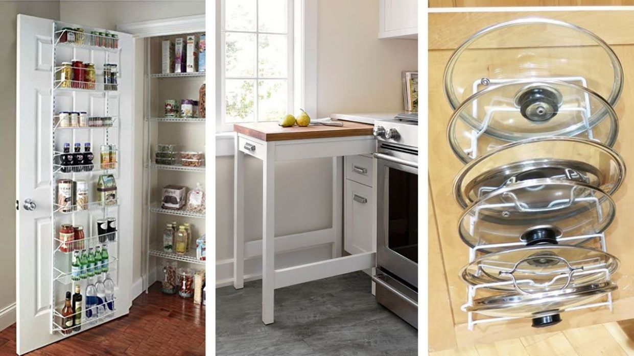 10 Easy Small Kitchen Storage Ideas