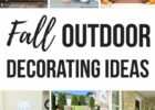 10 Fall Decorating Ideas For Outside - Making Manzanita