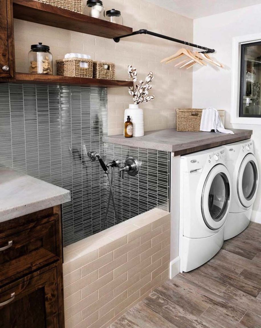 10 Functional And Stylish Laundry Room Design Ideas To Inspire ...