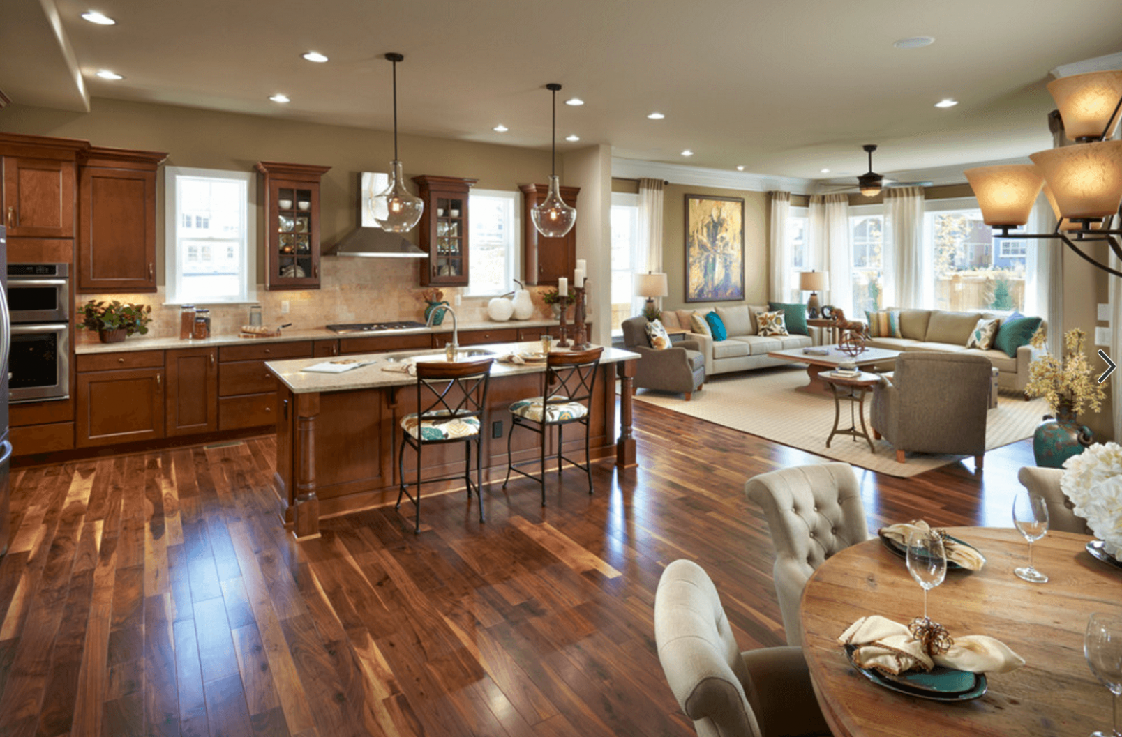 10 Great Reasons to Love an Open Floor Plan | Open concept kitchen ...