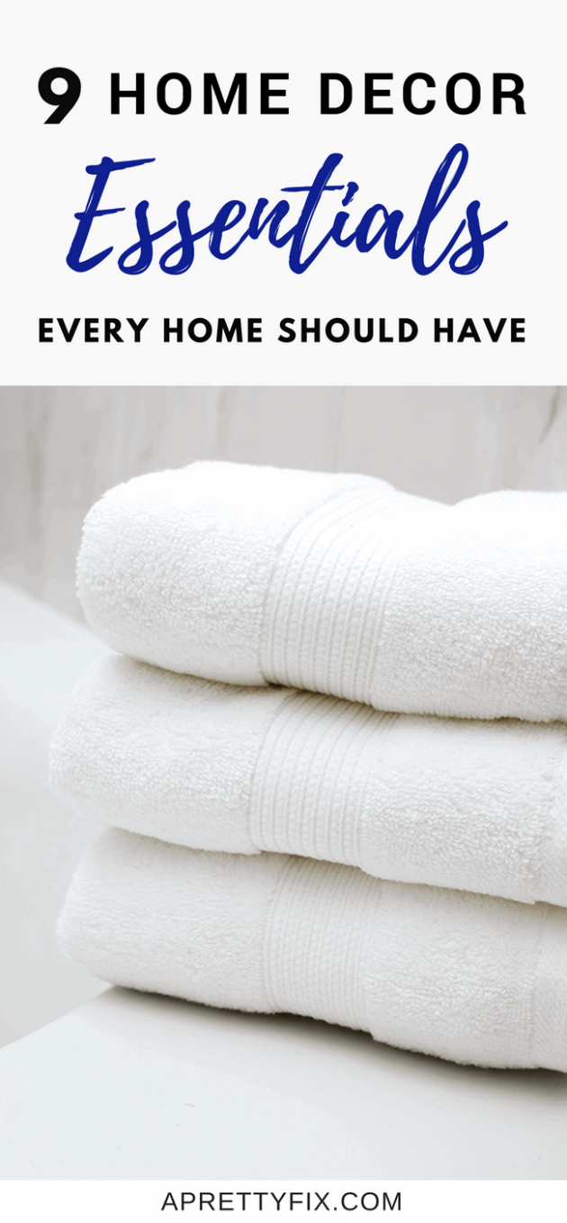 10 Home Decor Essentials Every Home Should Have - home decor essentials
