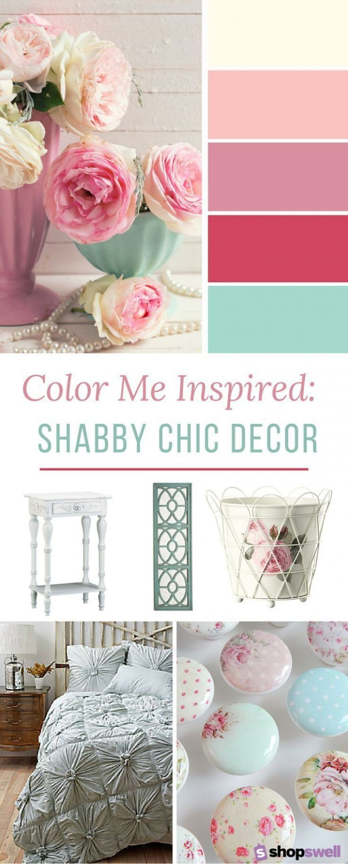 10 Home Decor Essentials for the Shabby Chic Bedroom in 1010 ...