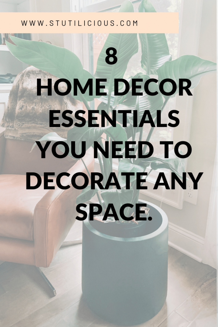 10 Home Decor Essentials you Need to decorate any space! | Home ...