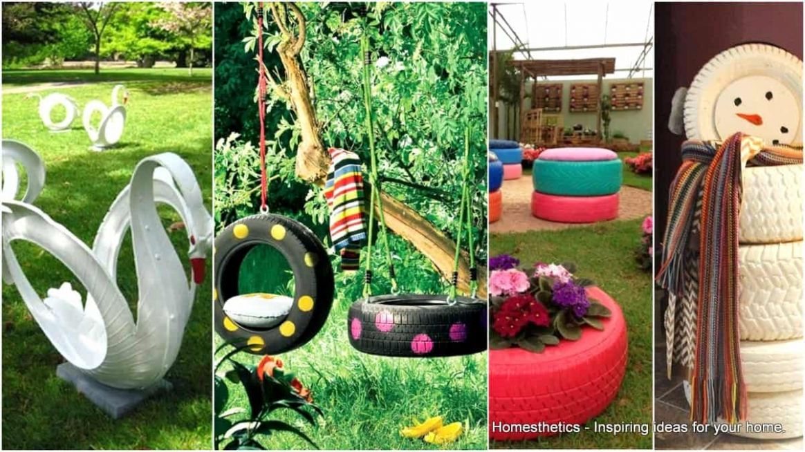 10 Ingenious DIY Tire Projects to Enhance Your Home & Garden ..