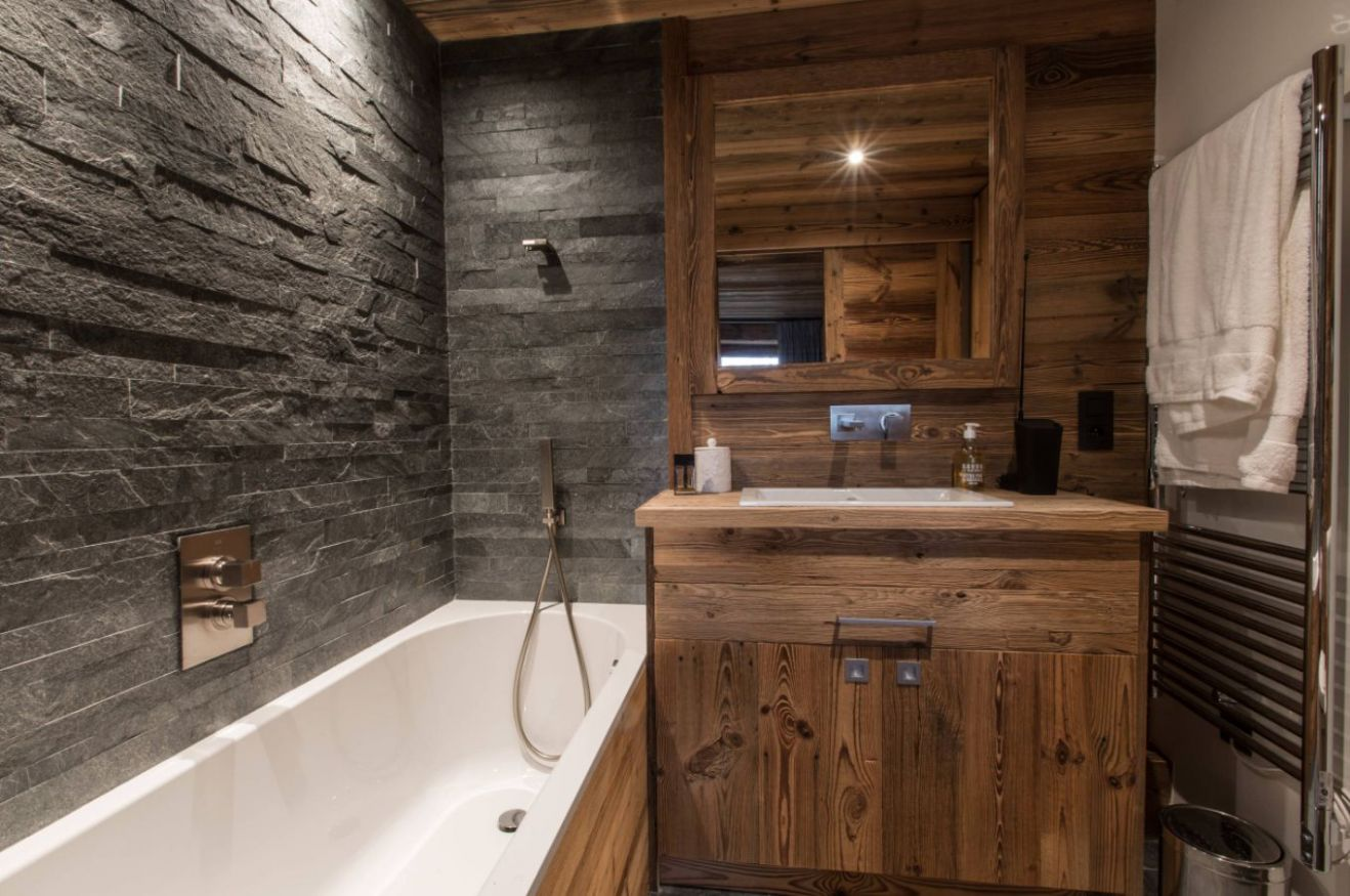 10 Inspirational Rustic Bathroom Ideas for Nature-Lovers - Digadig