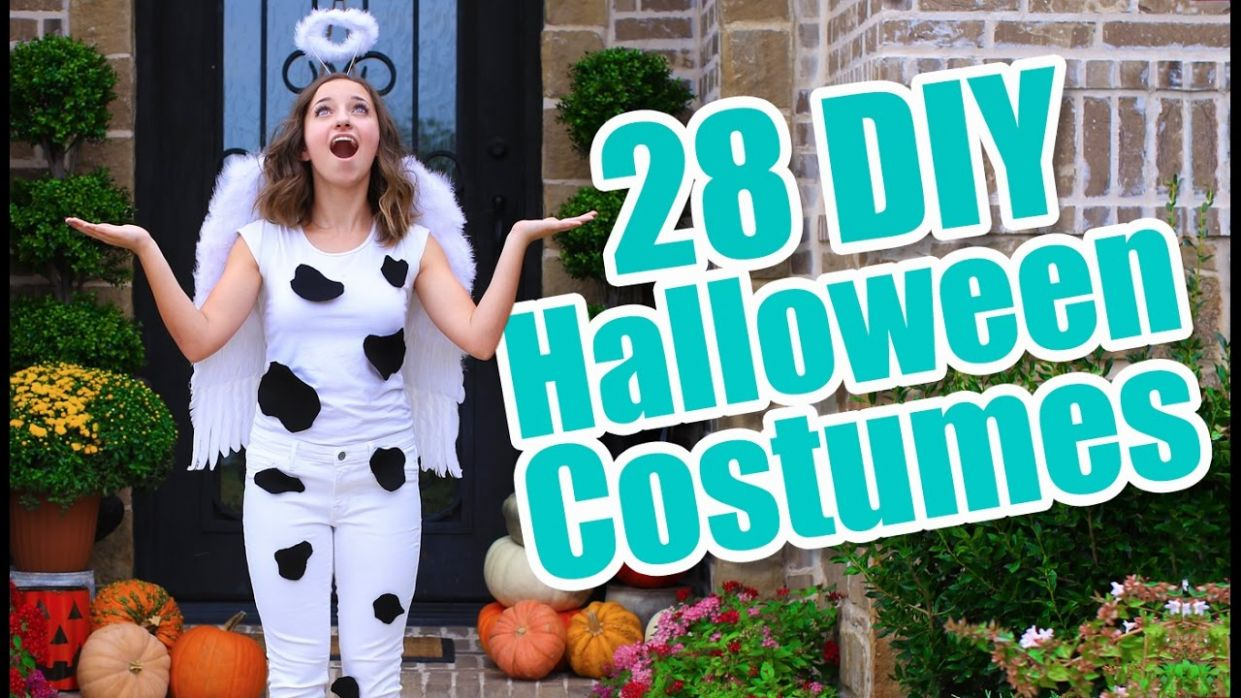 10 Last-Minute Halloween Costume Ideas | DIY Halloween Costumes - halloween ideas to do