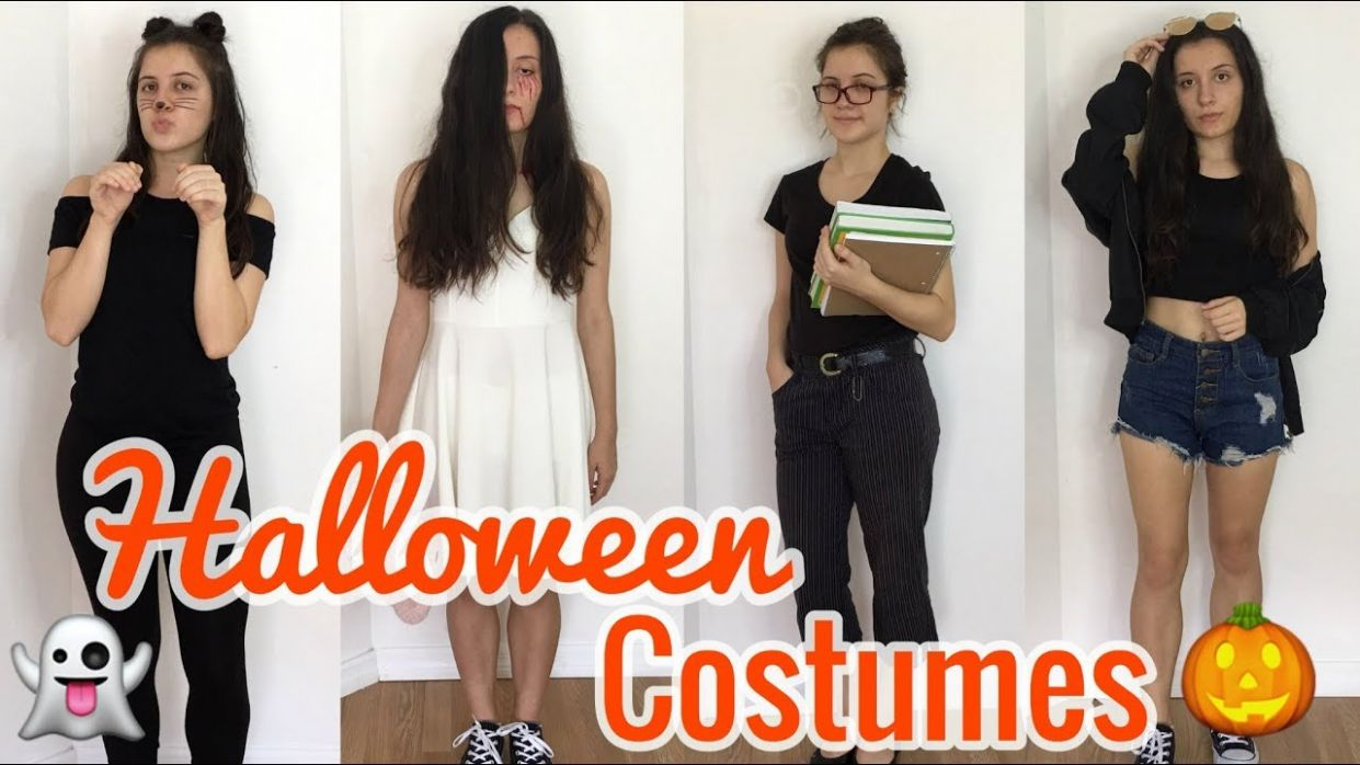 10 LAST MINUTE HALLOWEEN COSTUME IDEAS! *QUICK & EASY* - halloween ideas normal clothes