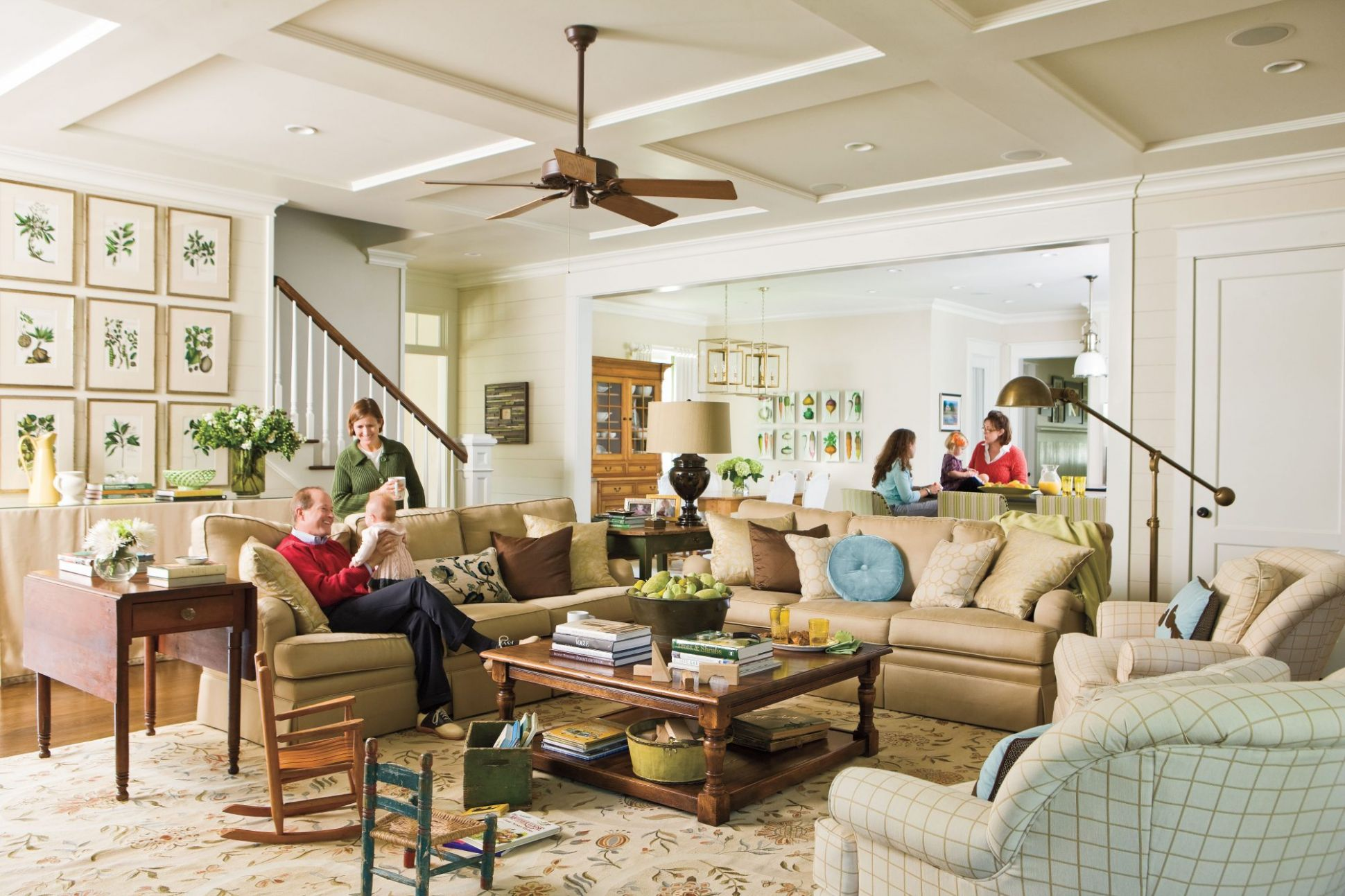 10 Living Room Decorating Ideas | Southern Living - living room ideas young family