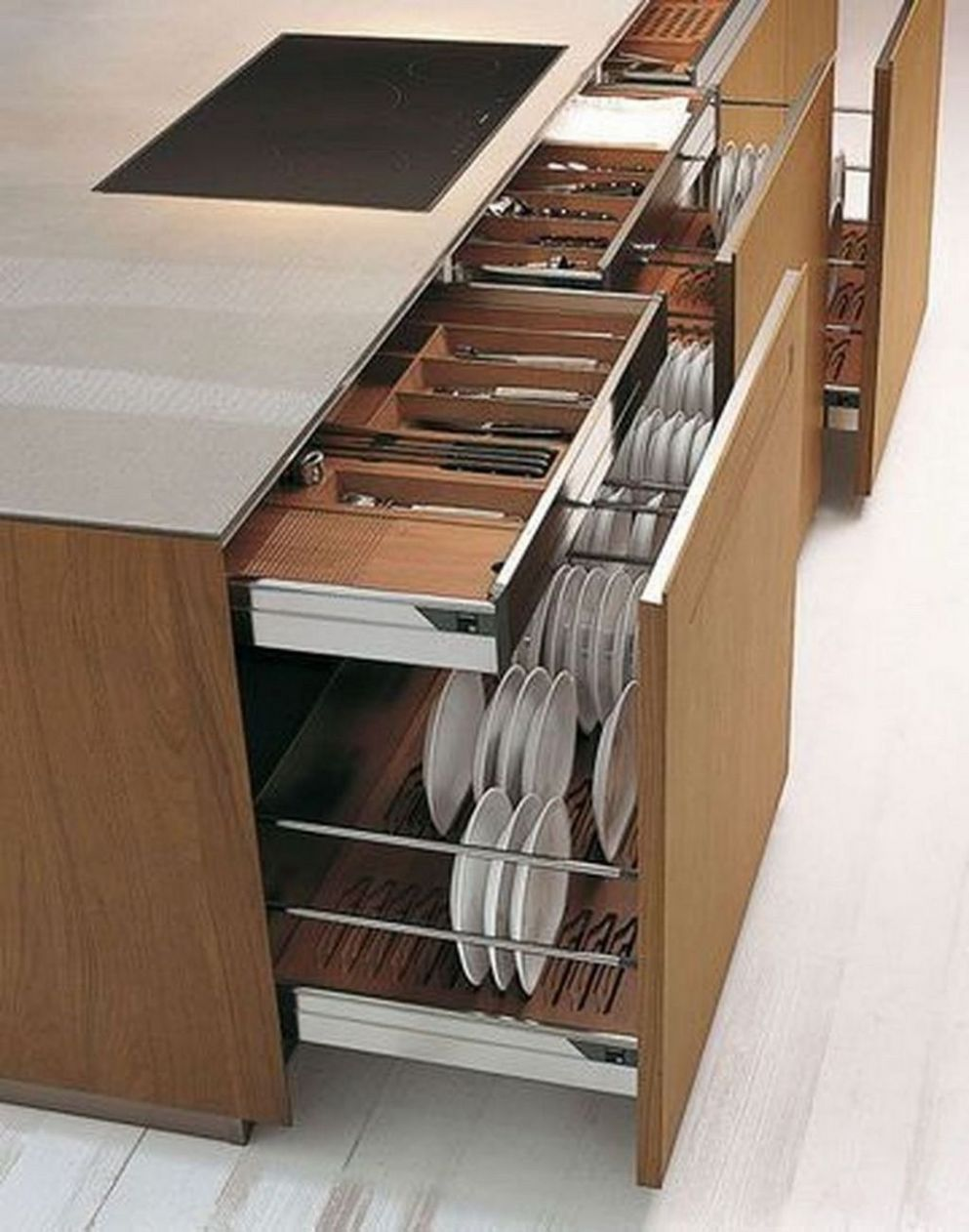 10+ Luxury Kitchen Storage Ideas To Save Your Space | Kitchen ...