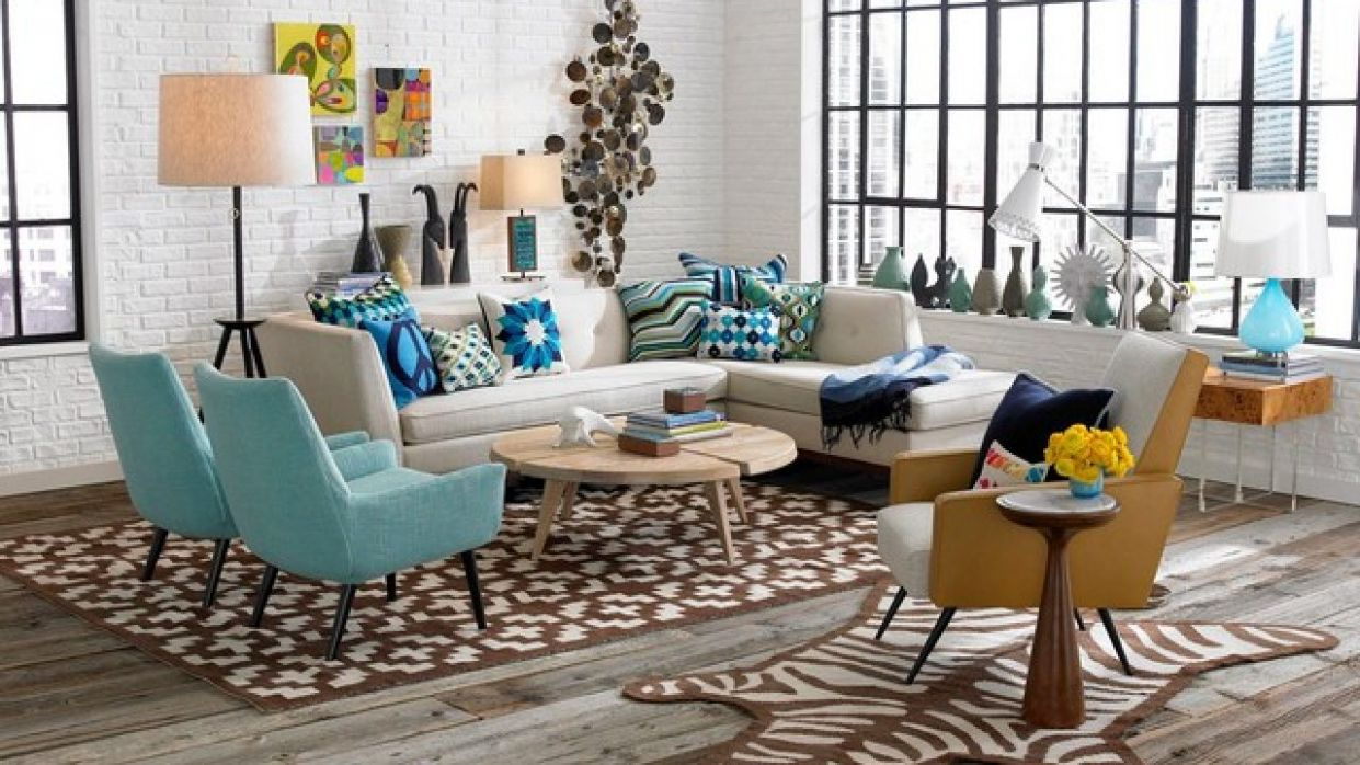 10 Magnificent Ideas For Decorating Retro Living Room - living room ideas retro