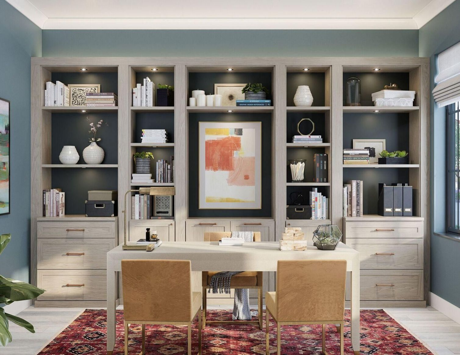 10 Modern Home Office Design Ideas For Inspiration - home office storage ideas uk