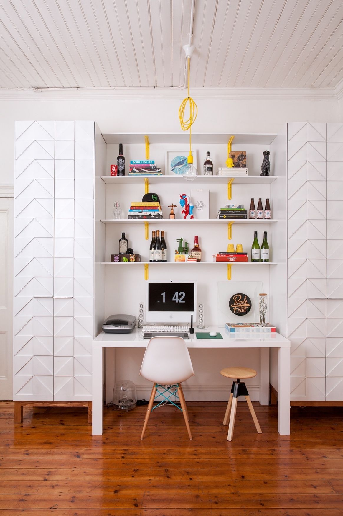 10 Modern Home Office Design Ideas For Inspiration - quirky home office ideas