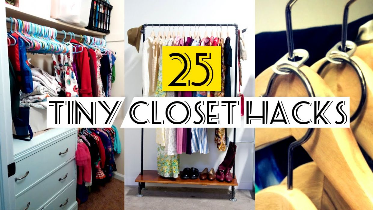 10 Organizing Small Closet ideas - small closet ideas youtube