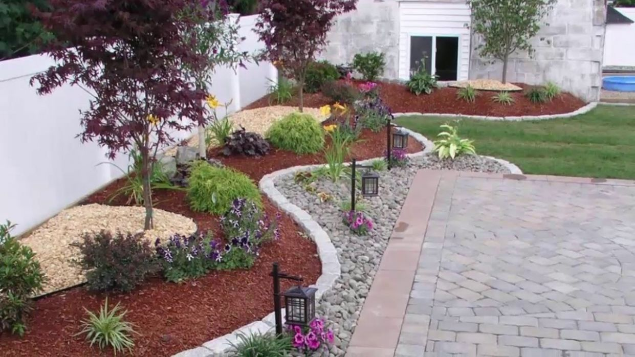 10 Outdoor backyard makeover design ideas - backyard landscaping ideas youtube