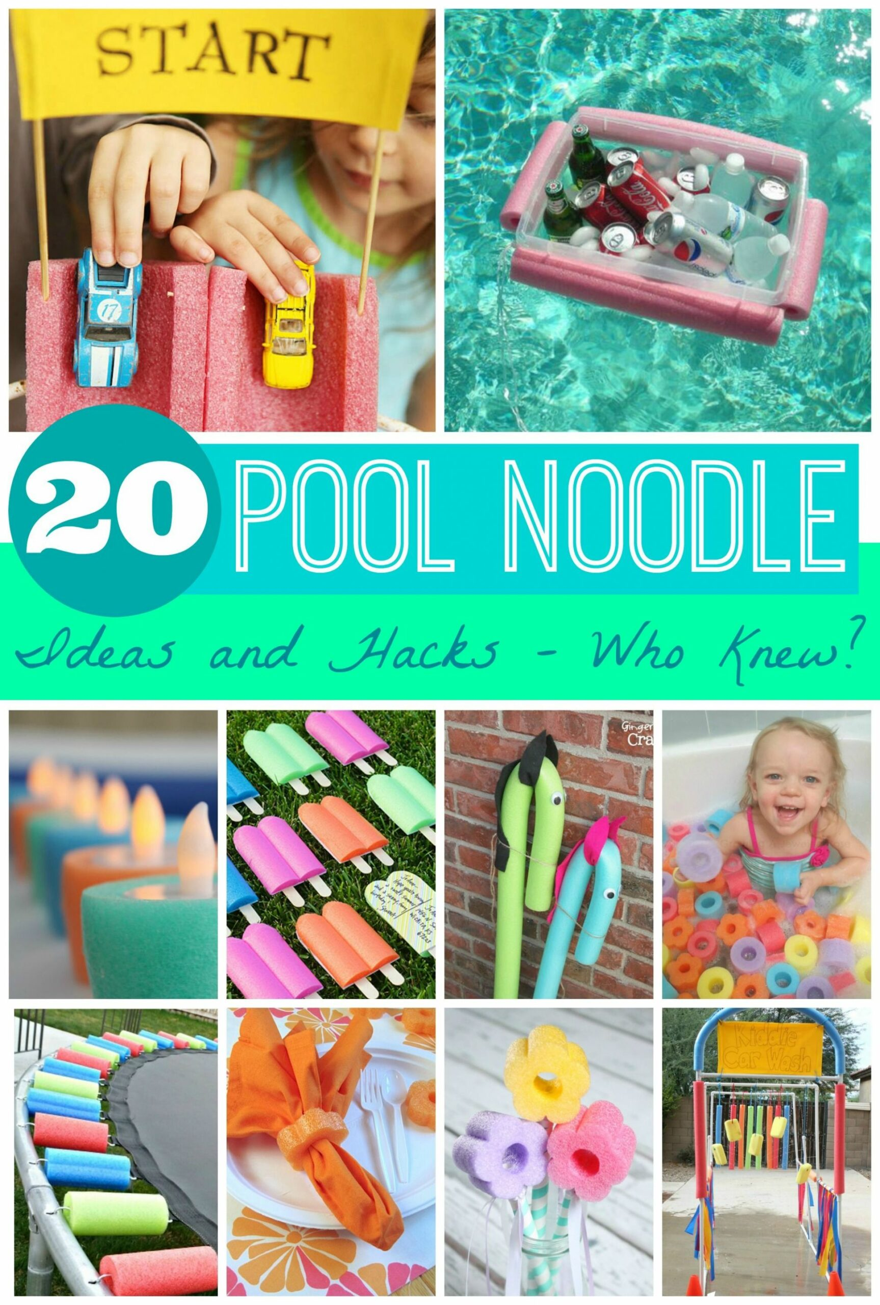 10 Pool Noodle Ideas and Hacks - Who Knew? | Pool noodles, Pool ...