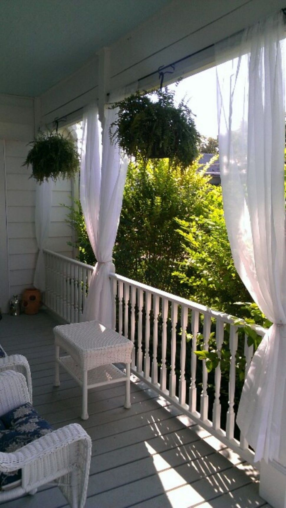 10 Private in Outdoor Space with Porch Curtains Privacy | Balcony ..