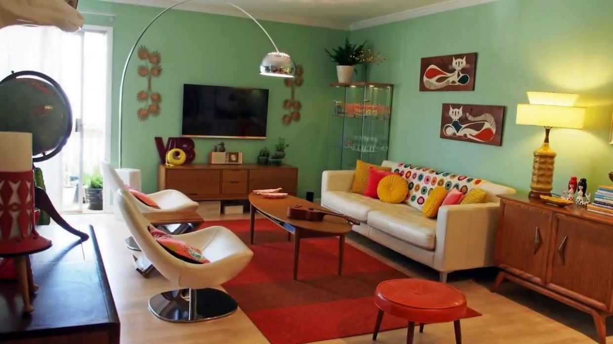 10 Retro Living Room Ideas