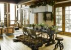 10 Rustic Dining Room Ideas - Farmhouse Style Dining Room Designs