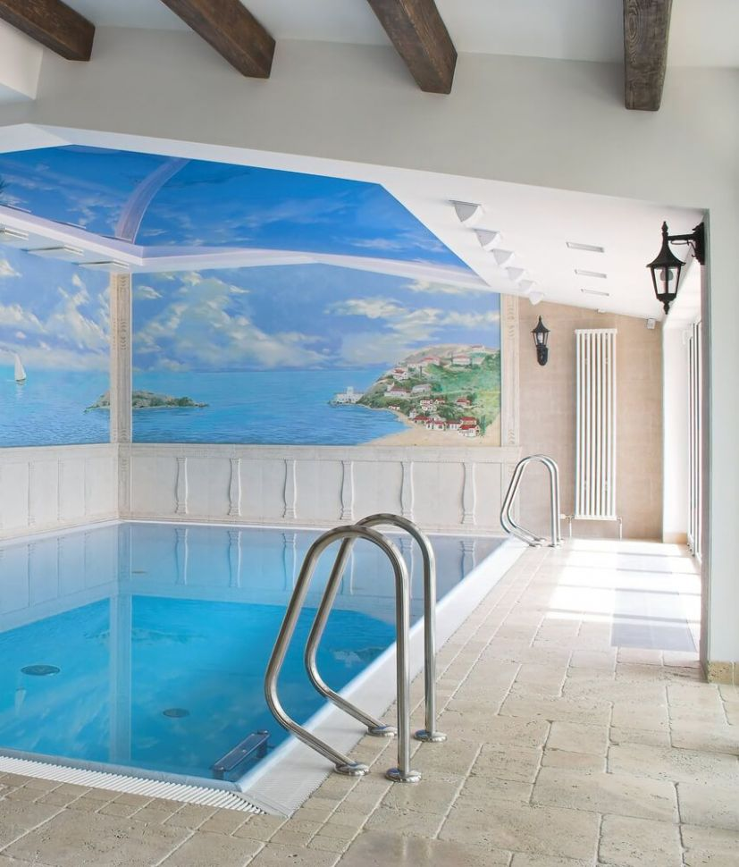 10 Screened-In and Covered Pool Design Ideas | Indoor swimming ..
