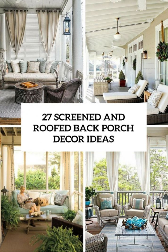 10 Screened In Porch Ideas with Stunning Design Concept | Patio ...