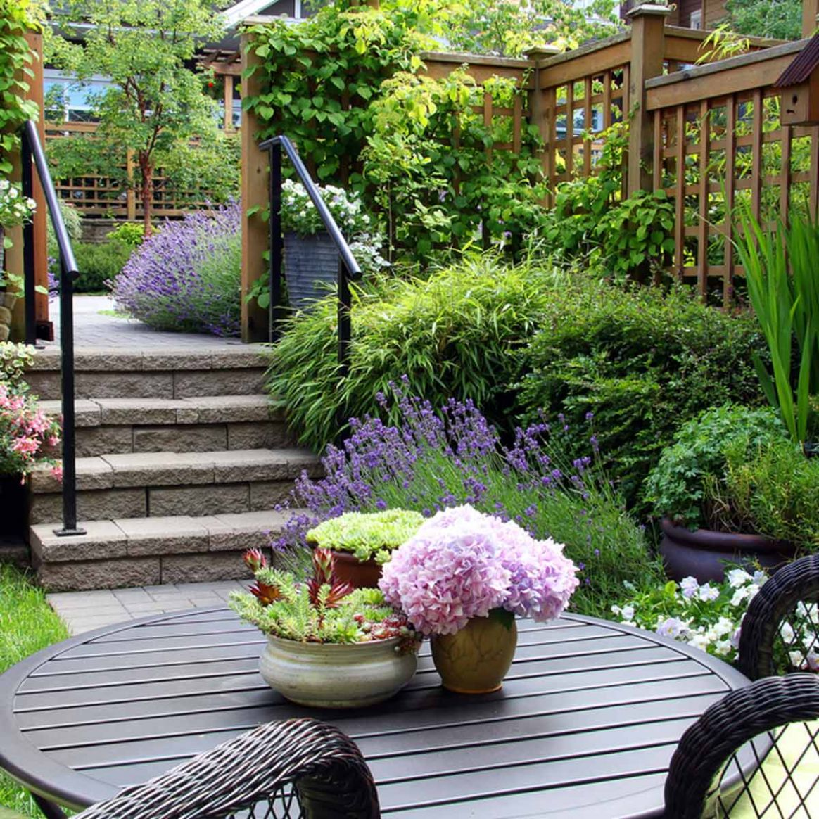 10 Small Yard Landscaping Ideas to Impress | Family Handyman - garden ideas small space