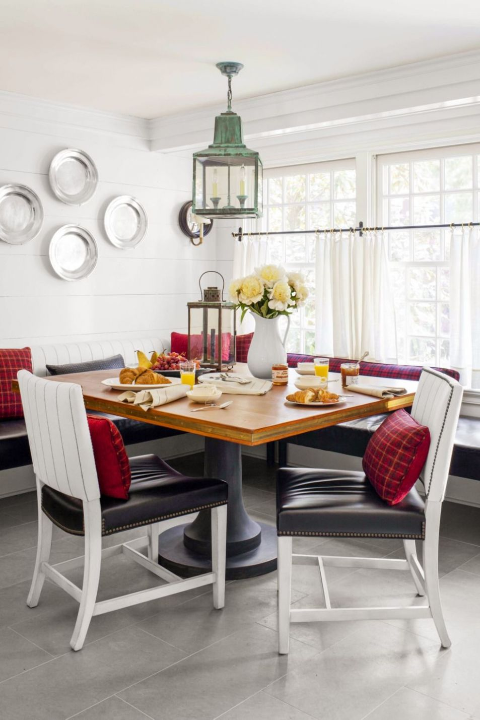 10 Sunroom Decorating Ideas - Best Designs for Sun Rooms - small sunroom table and chairs
