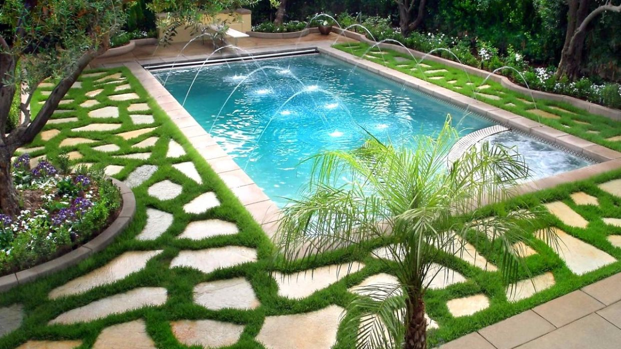 10 Swimming Pools, Best Landscaping Ideas | Part 10 - pool landscaping ideas