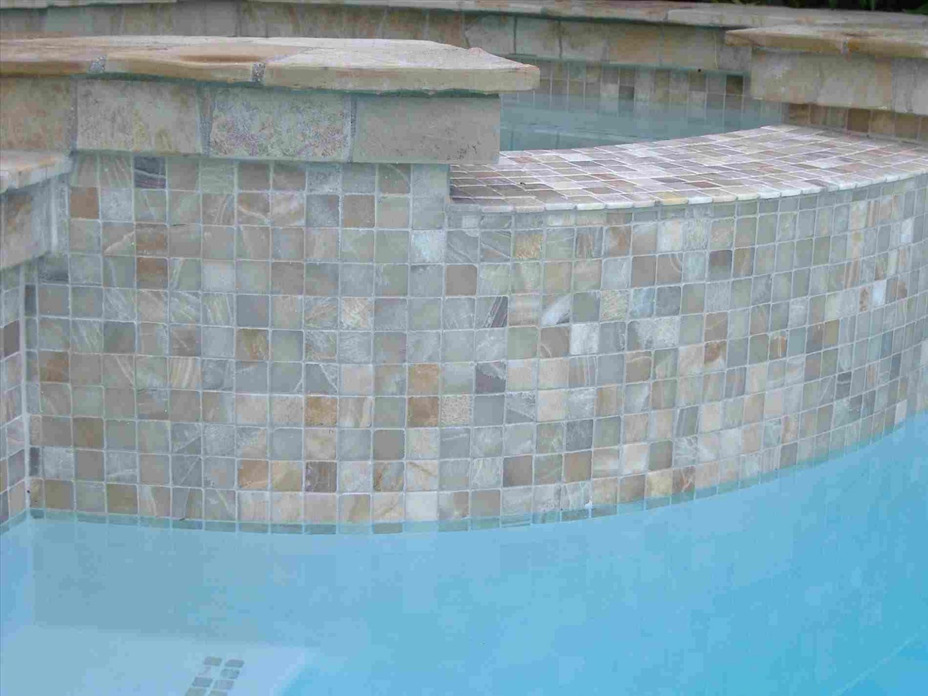 10+ The Amazing Inspiration for Pool Tile Ideas   Mosaic pool tile ..