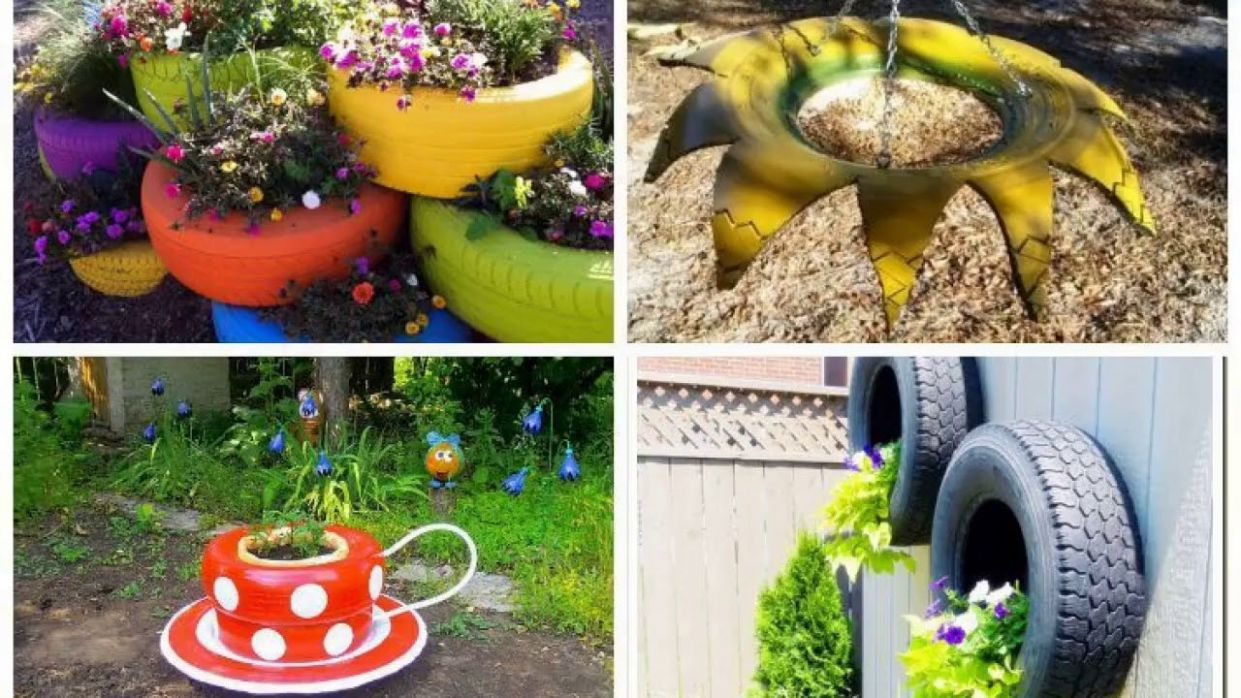 10 Tire Garden Ideas You Must Look on - garden ideas with tires