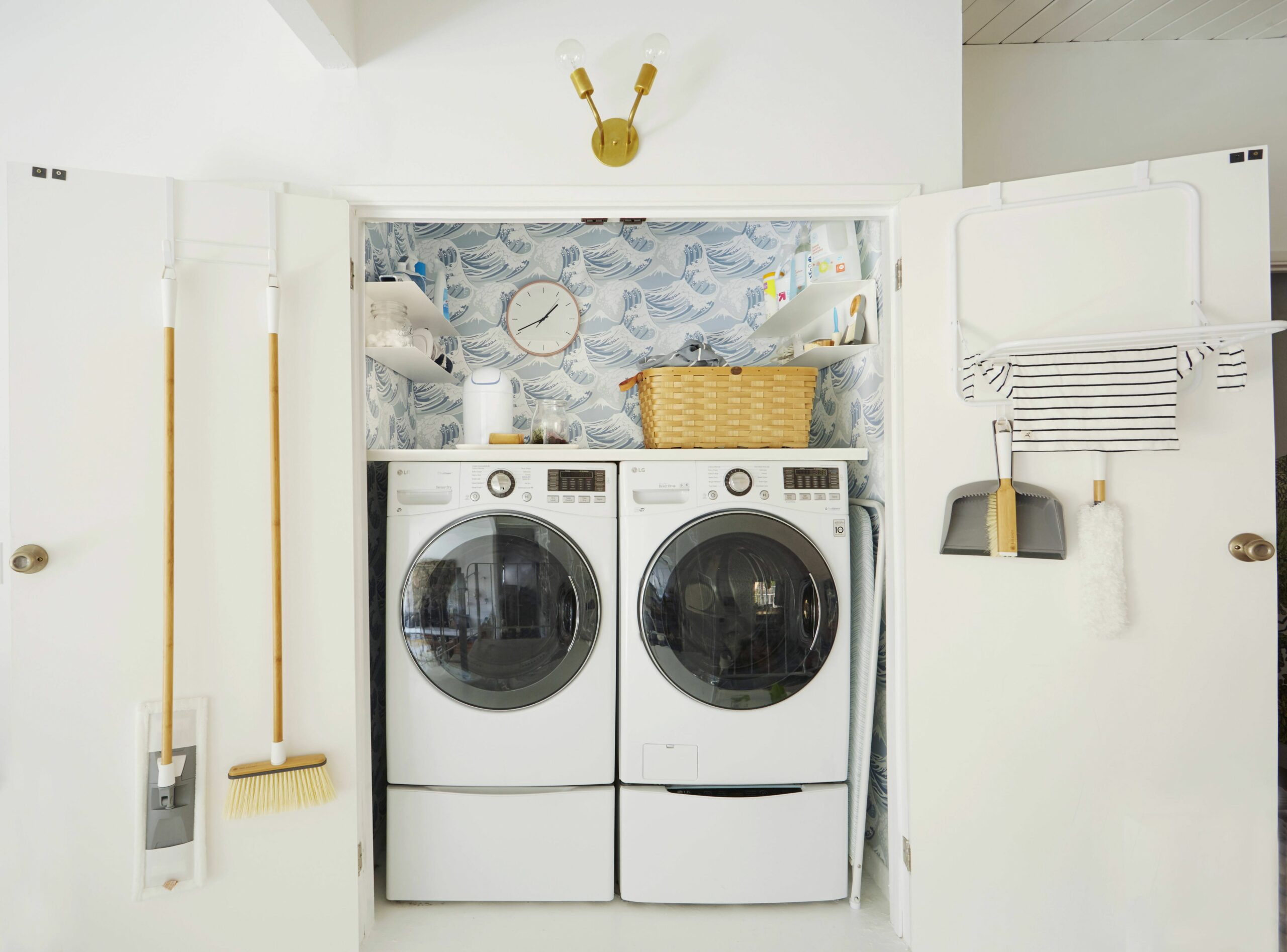 10 Unexpected Ways to Upgrade Your Laundry Closet