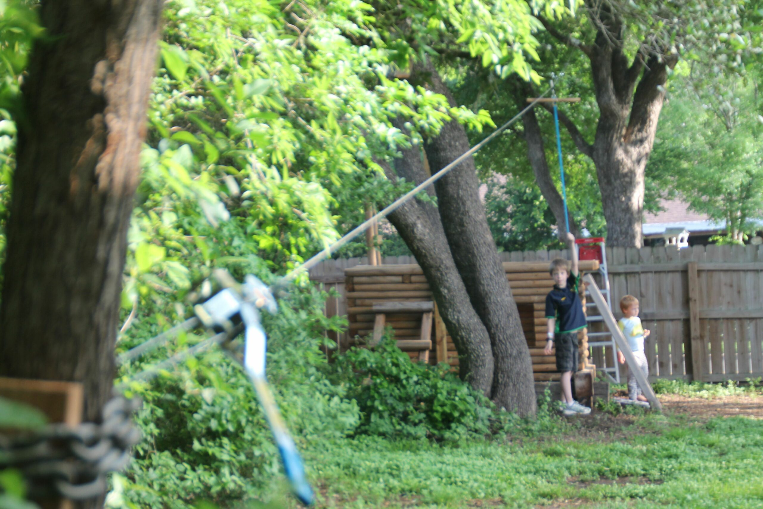 10+ Ways on How to Improve Your Backyard Privacy | Zip line ...