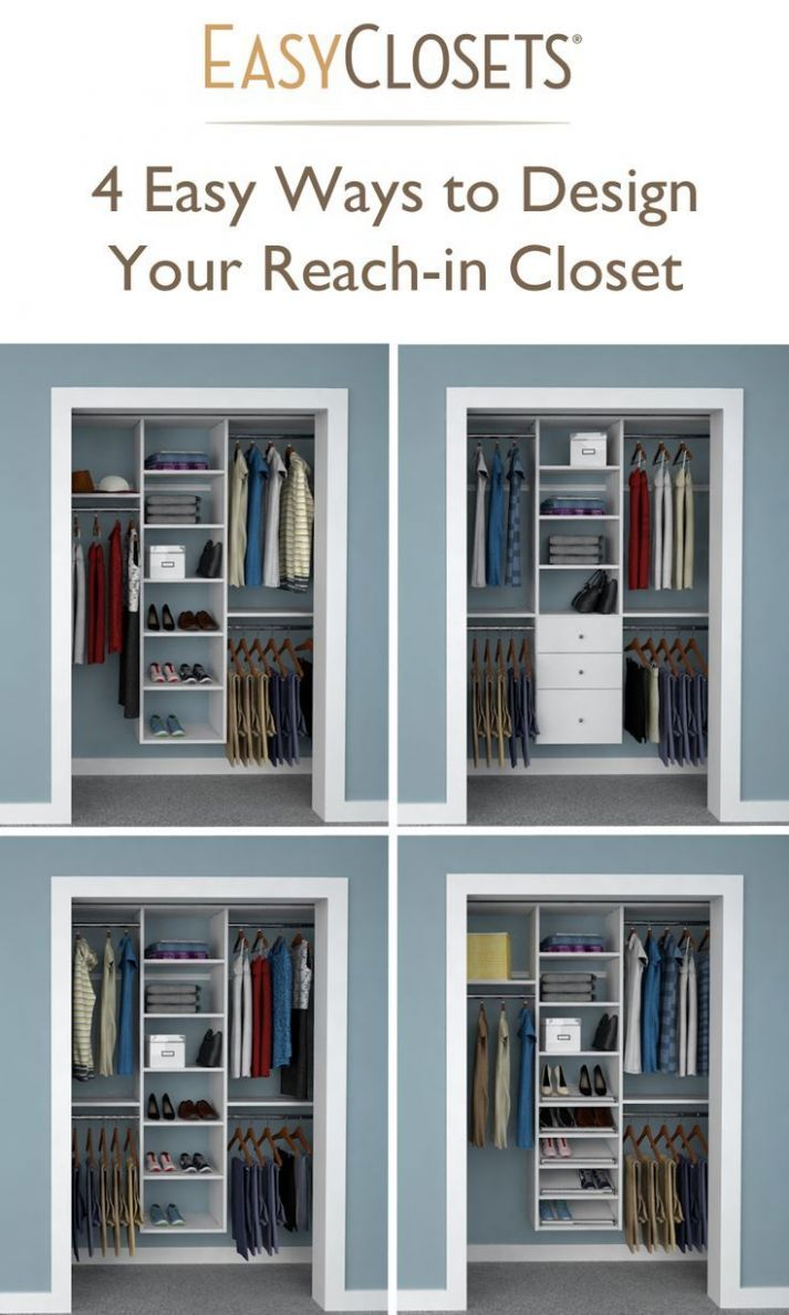 10 Ways to Design Your Reach-in Closet | Quotes/Room stuff | Closet ..